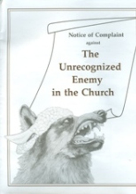 Unrecognized Enemy in the Church, The