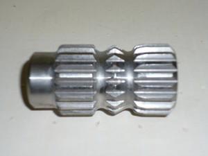 Replacement steel spline