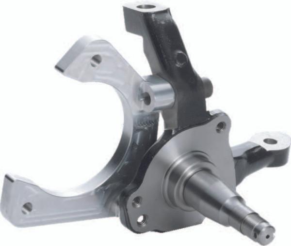 Billet Aluminum Pinto to GM Metric Caliper Bracket (R)