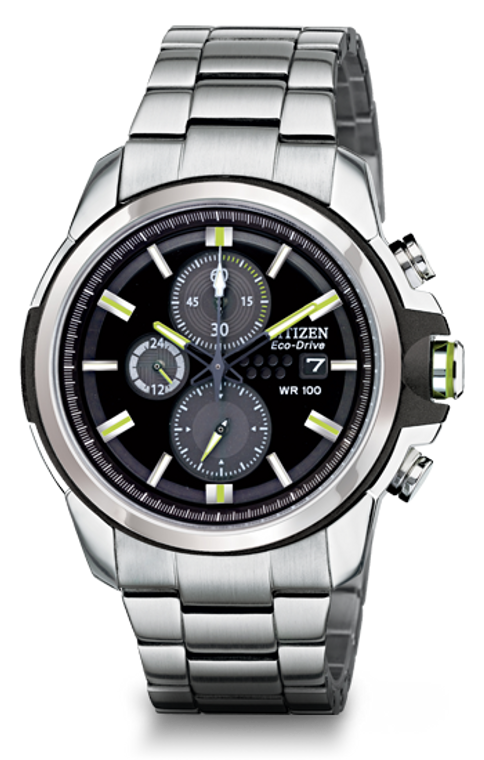 Citizen Men's CA0428-56E DRIVE From Citizen Eco-Drive AR 2.0 Stainless Steel Chronograph Watch 60000721 By Shin Brothers*