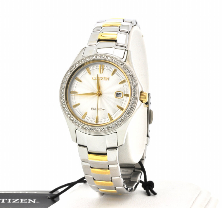 Citizen Eco Drive FE1144-69A Women's Gift Set By Shin Brothers*