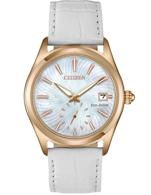 Citizen Corso Rose Gold Tone Women's Watch  EV1033-08D By Shin Brothers*