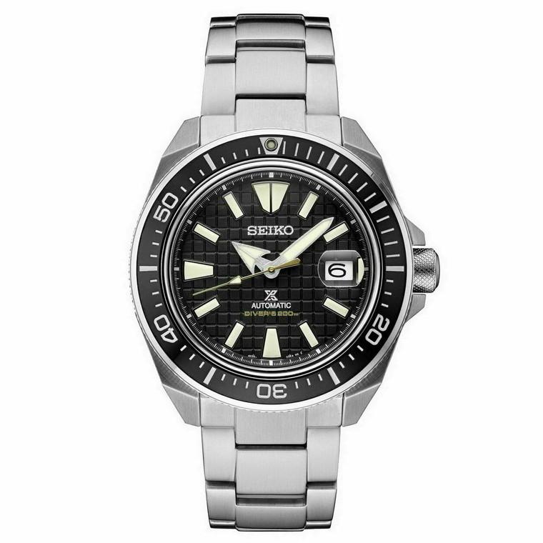 New Seiko Automatic Prospex King Samurai Black Dial Divers Men's Watch SRPE35 | Shin Brothers*