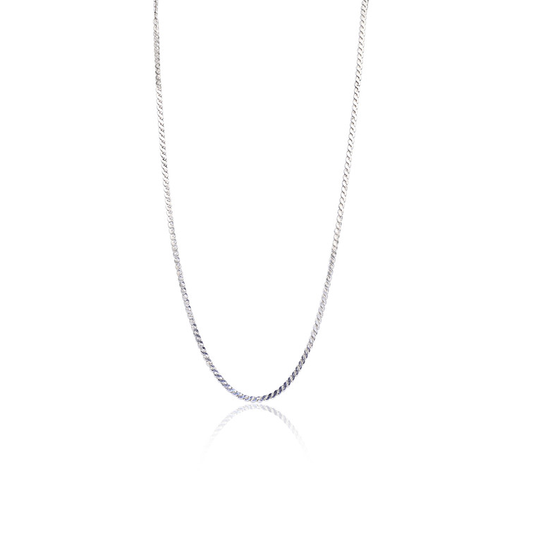 """Sterling Silver 16"""" S-Link Chain 83010908   Shin Brothers*"""