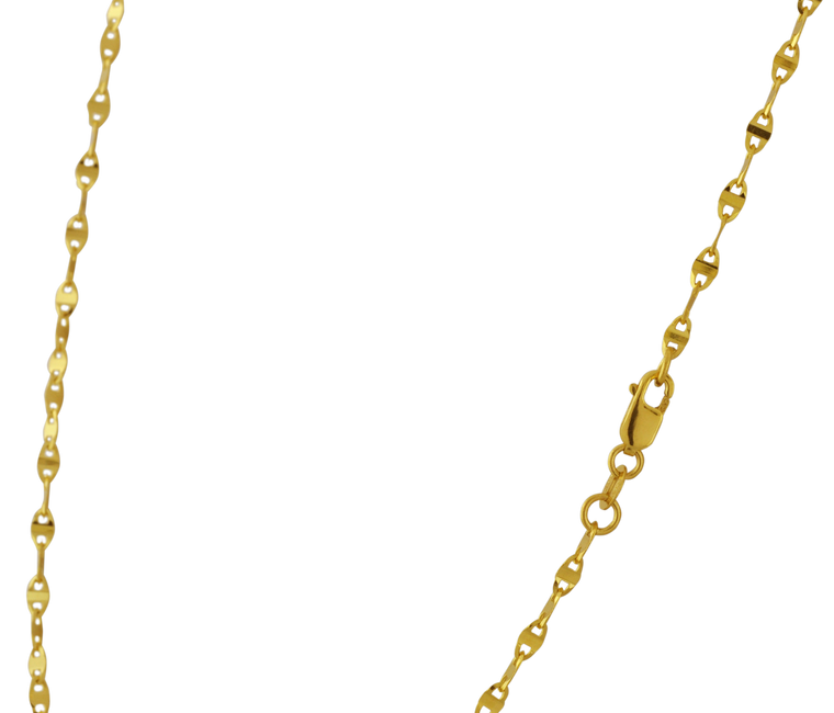 """14K Yellow Gold 20"""" Sparkle Chain 30003676   Shin Brothers*"""