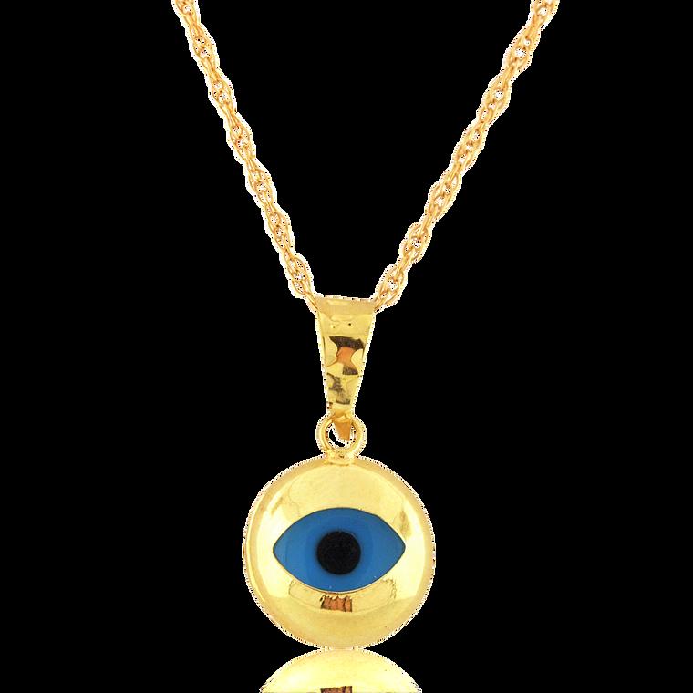 14K Yellow Gold Evil Eye Charm 50003800 | Shin Brothers*