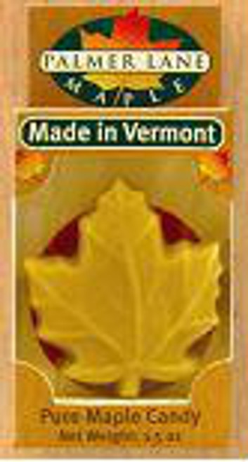 Maple Sugar Candy - Maple Leaf Shape - 1.5 oz Pure Maple Candy