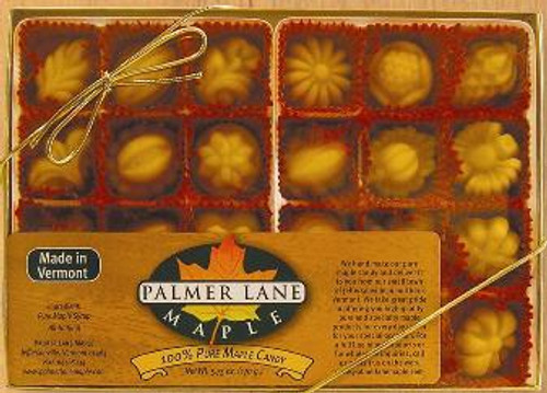 Maple Sugar Candy - 24 Pieces of Fancy Shapes - 5.75 oz Pure Maple Candy