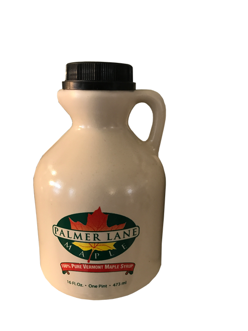 Pint Vermont Maple Syrup in Plastic Jug