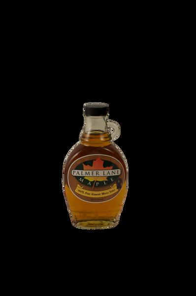 8 oz Maple Syrup Bottle with Palmer Lane Maple Logo