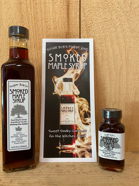 Smoked Pure Maple Syrup