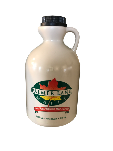 Quart of Pure Vermont Maple Syrup made by Palmer Lane Maple