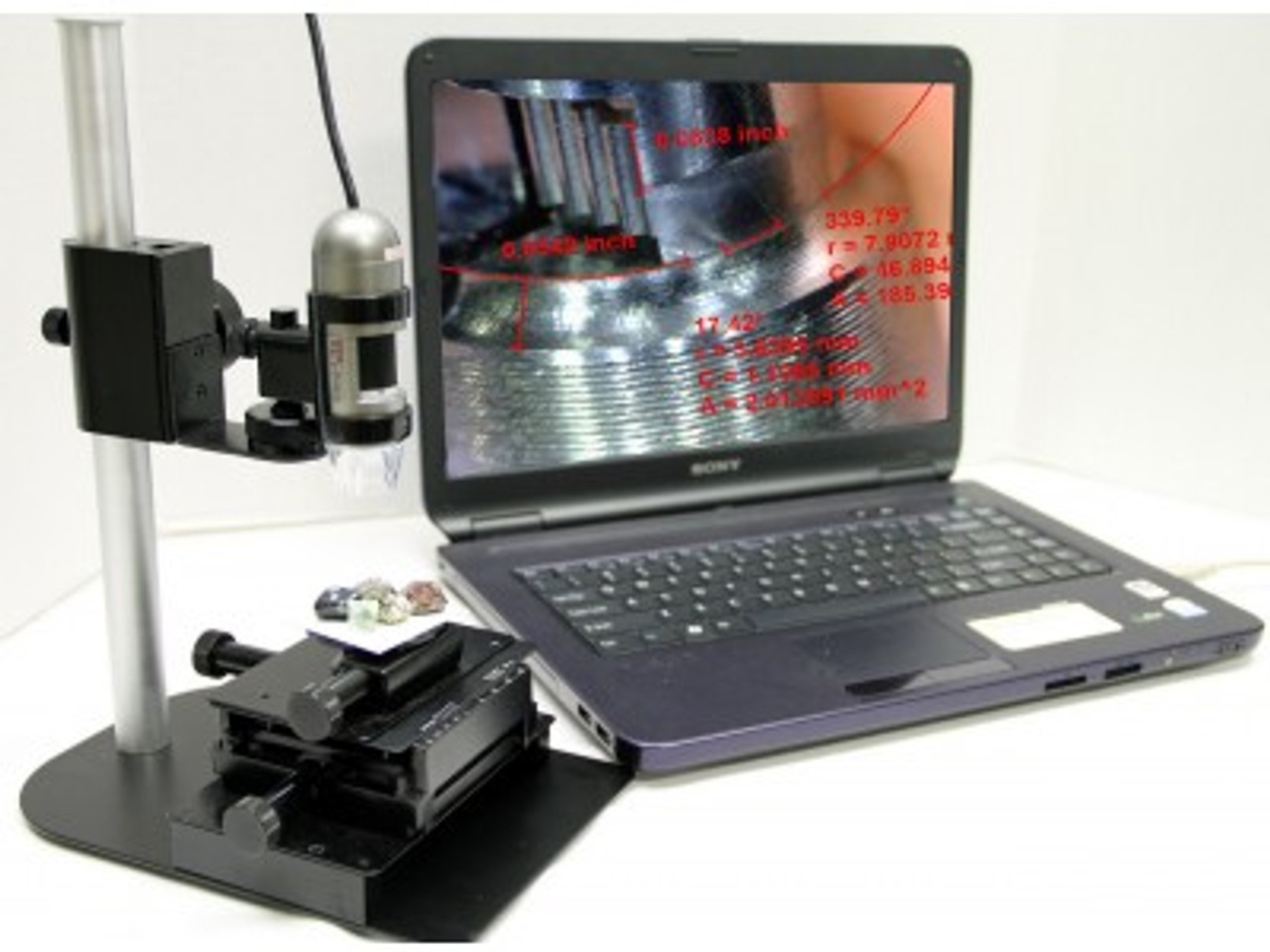 AM4113T Dino-Lite Pro, 10x-50x, 220x, measurement feature (replaces AM413TA)