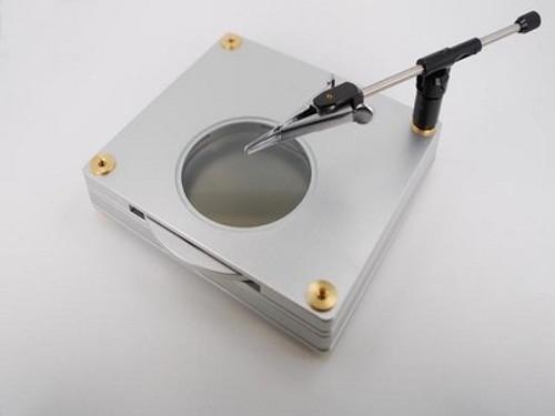 BL-ZW1 Backlight stage polarizer designed for use with polarizing model microscopes (AM4113ZT, AM4113ZTS, AM5212NZT or AM4115ZT etc)
