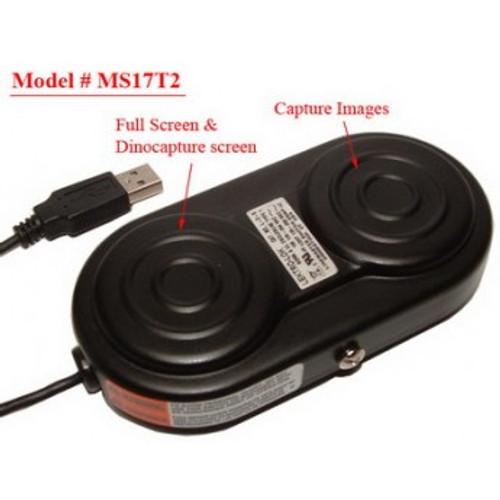 MS17T2  Dual USB foot pedal