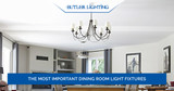 The Most Important Dining Room Light Fixtures