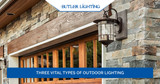 Three Vital Types Of Outdoor Lighting