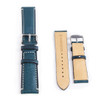 Seiko 5 Sports Watch with Blue Leather Strap SNZH55K1 SNZH55K
