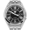 Seiko 5 Automatic Roman Numerals Black Dial Mens Casual Watch SNKL35K1