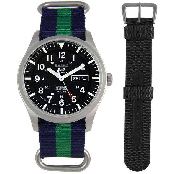 Seiko 5 Male Watch SNZG15J