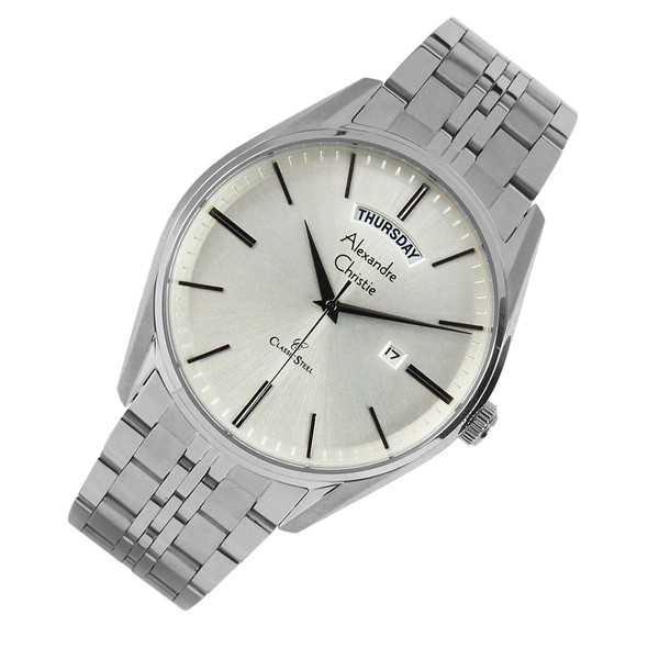 8588MEBSSSL Alexandre Christie Classic Steel Watch