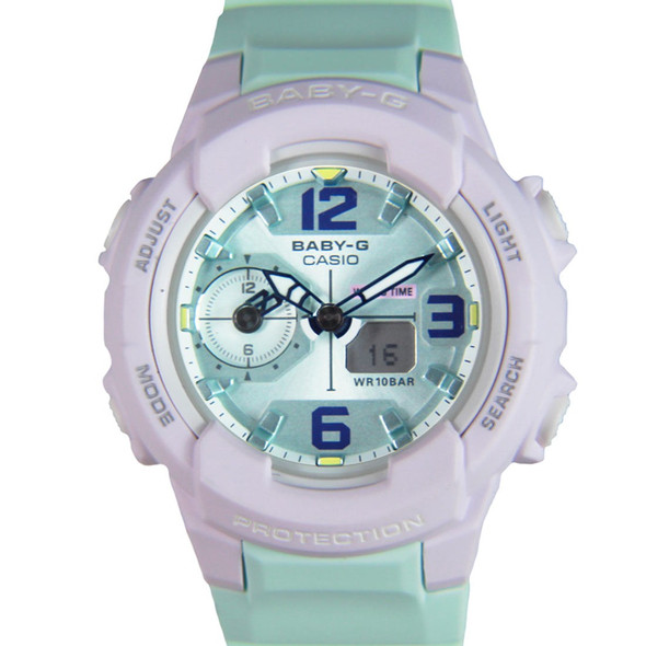 Casio Digital Analog Watch BGA-230PC-6B