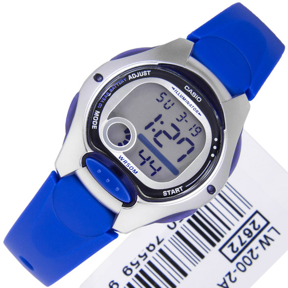 Casio Illuminator Blue Womens