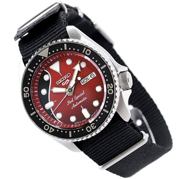 Seiko 5 Sports Red Special Male Watch SRPE83K1 SRPE83 (Pre-Order)