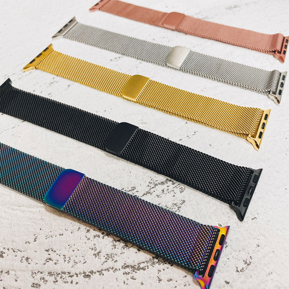 Milanese Loop Magnetic Colorful Mesh Apple Watch Band