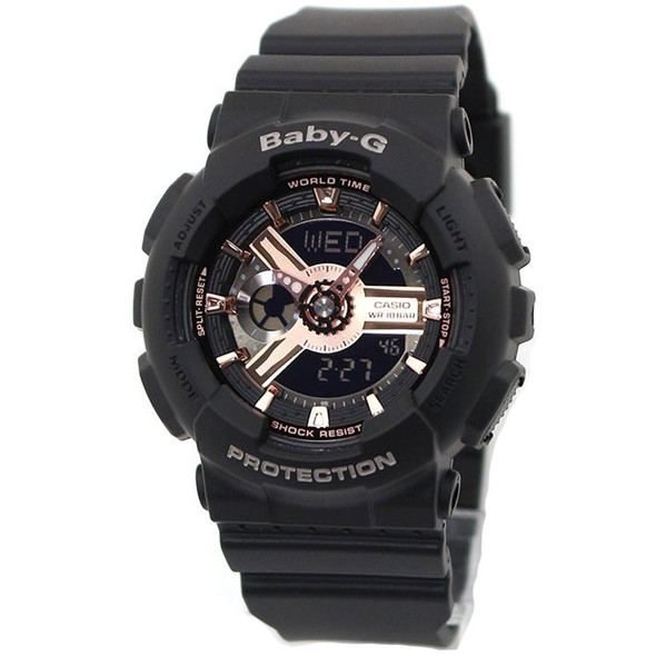 Casio Digital Analog Watch BA-110RG-1A