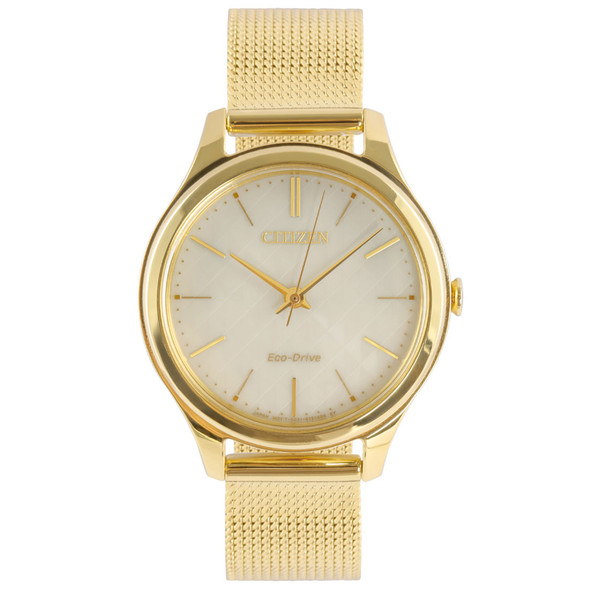 Citizen EM0502-86P Gold Watch