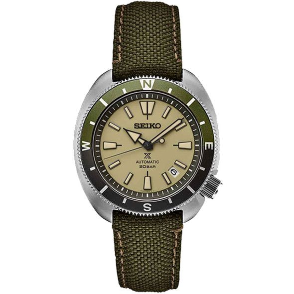 Seiko SRPG13 Tortoise Green Watch
