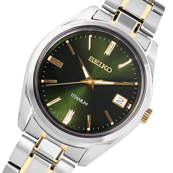 SUR377 Seiko Titanium Watch