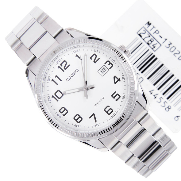 Casio Quartz White Dial Mens Dress Watch MTP-1302D-7BVDF MTP1302D