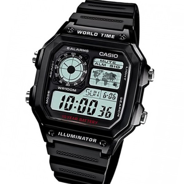 Casio watch AE-1200WH-1AVDF