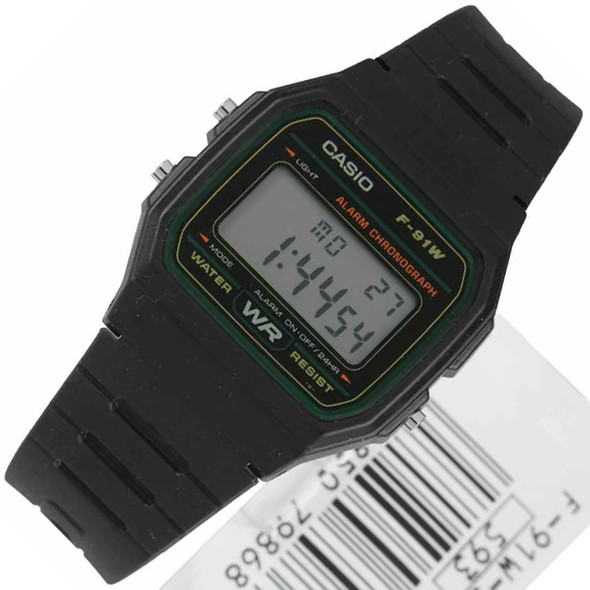 Casio F-91W-3DG Digital Watch