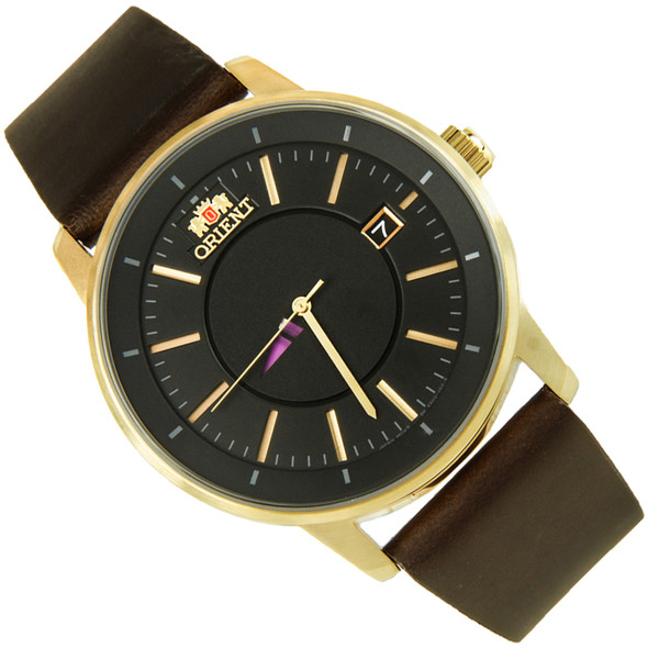 Orient Disk Collection Black Dial Automatic Casual Mens Watch ER02007B