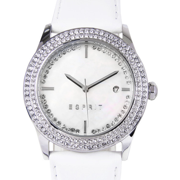 Esprit Quartz Jasmine Mother of Pearl Womens Dress Watch ES107452001