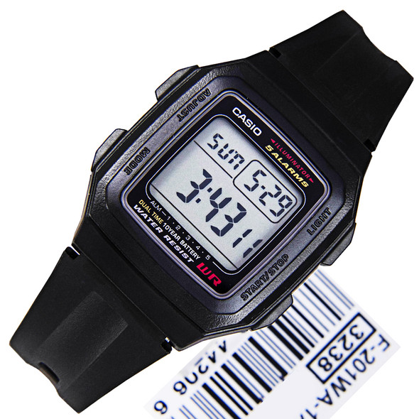Casio Illuminator Sports Mens Watch F-201WA-1A