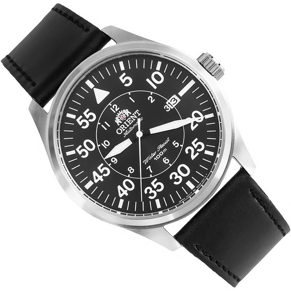 Orient Automatic Flight Pilot Black Dial Mens Watch FER2A003B0 ER2A003B