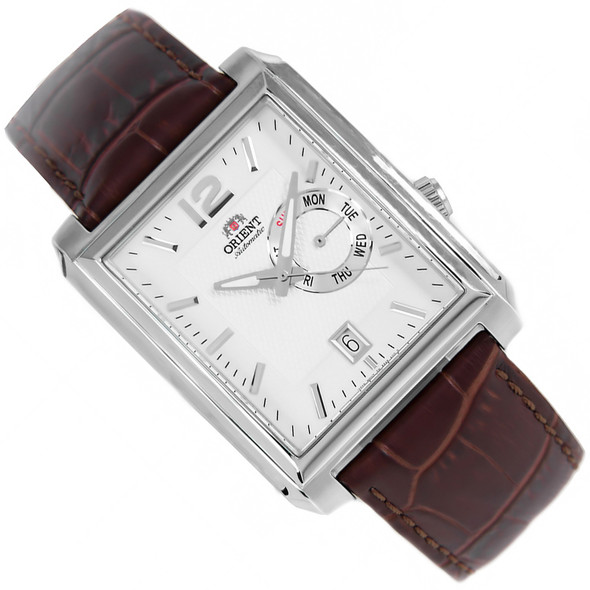 Orient Rectangle Dial Automatic Classic Mens Dress Watch ESAE003W