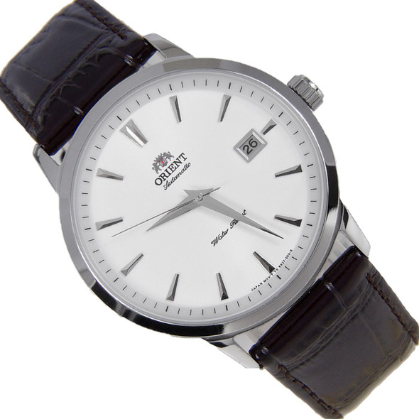 Orient Symphony Brown Leather Automatic Mens Watch FER27007W ER27007W