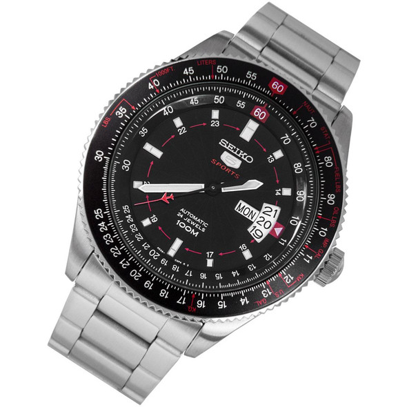 Seiko 5 Automatic Pilot Sports Watch SRP613K1 SRP613