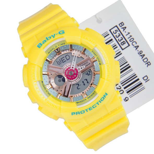 Casio Baby-G Ladies Sports Watch BA-110CA-9A BA-110CA