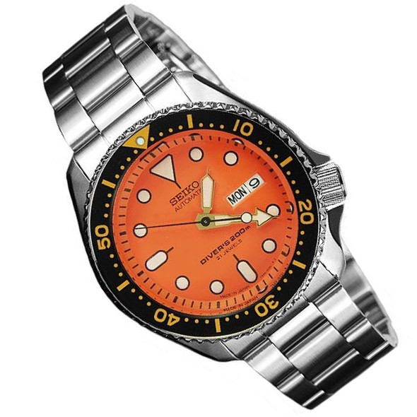 Seiko SKX011J Solid Oyster