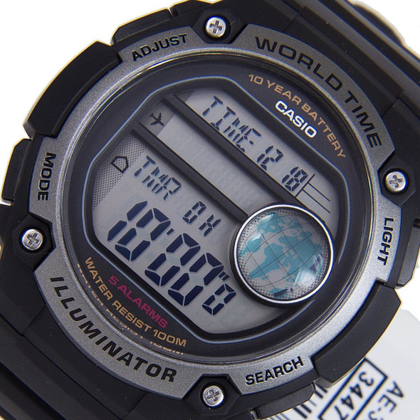 Casio Illuminator Male Watch AE-3000W-1A AE-3000W-1AVDF