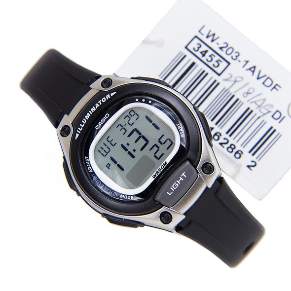 Casio Digital Unisex Watch LW-203-1A LW-203