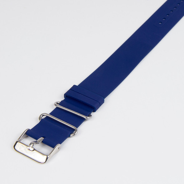 Rubber Band Plain Blue