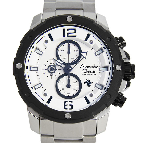 Alexandre Christie Chronograph 6410MCBTBSL Watch