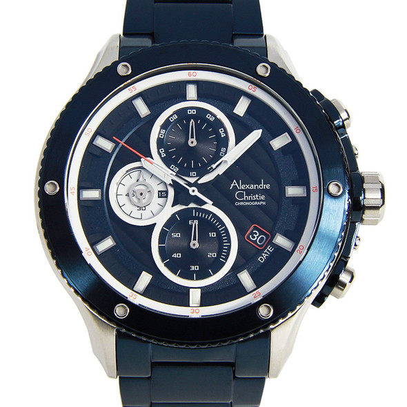 Alexandre Christie Chronograph 6489MCBTUBA Watch